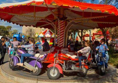 Carnival Kingdom bike carousel ride