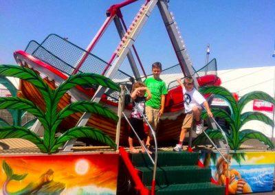 Carnival Kingdom boat swing ride