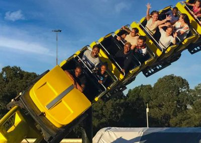 Carnival Kingdom roller coaster ride