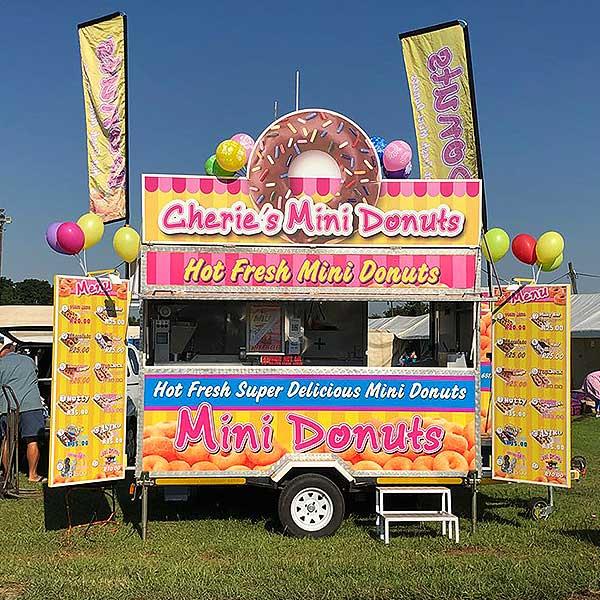cherie's mini donuts