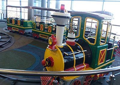 Carnival Kingdom train ride