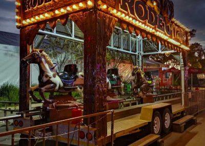 Carnival Kingdom rodeo trail ride