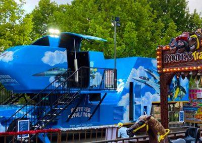 Carnival Kingdom venturer simulator ride