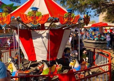Carnival Kingdom carousel ride